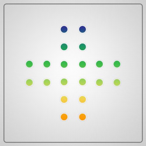 معمای آونگ زومیت چهار نقطه