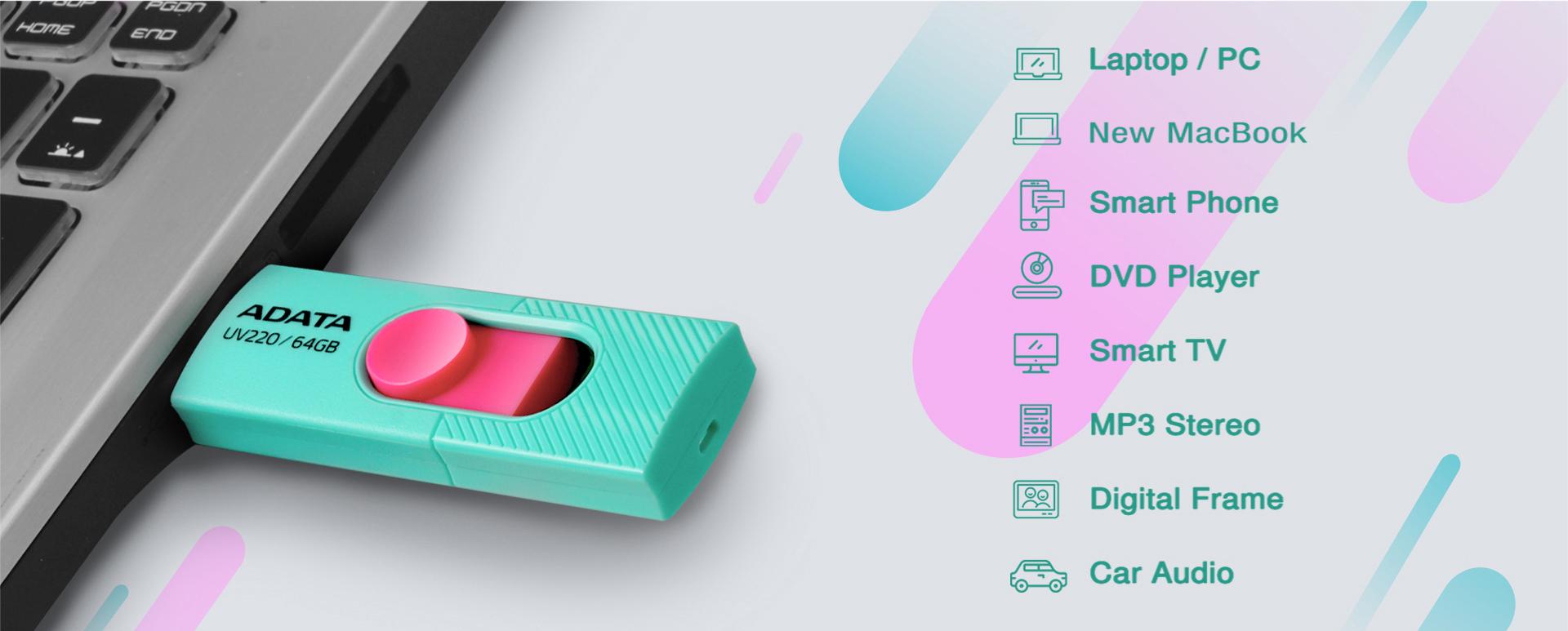 فلش مموری کاربردی USB 2.0 UV220 ایدیتا