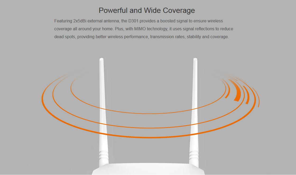 مودم +ADSL2 تندا D301-V2