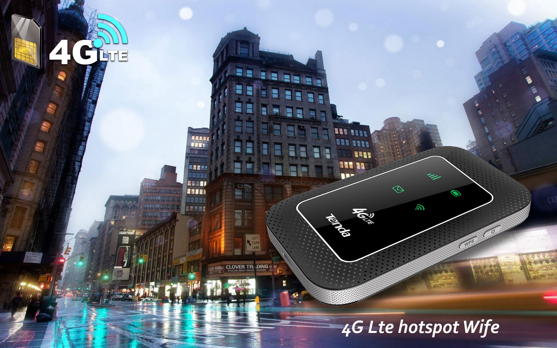 مودم همراه 4G LTE تندا 4G180