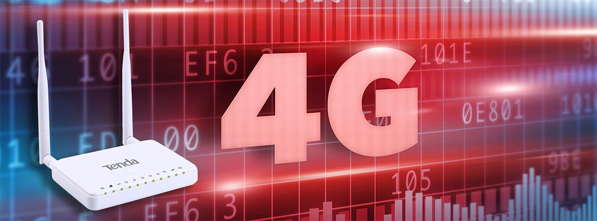 روتر رومیزی 4G بیسیم تندا 4G630
