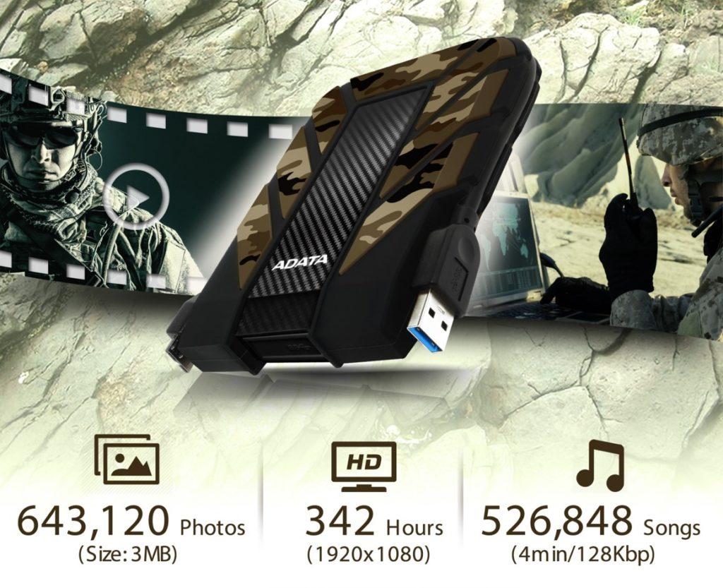 هارد دیسک اکسترنال ضد ضربه، ضد آب و ضد گردوغبار HD710M Pro ایدیتا