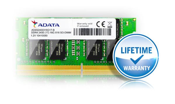 حافظهی رم لپتاپی Premier DDR4 2400 ایدیتا