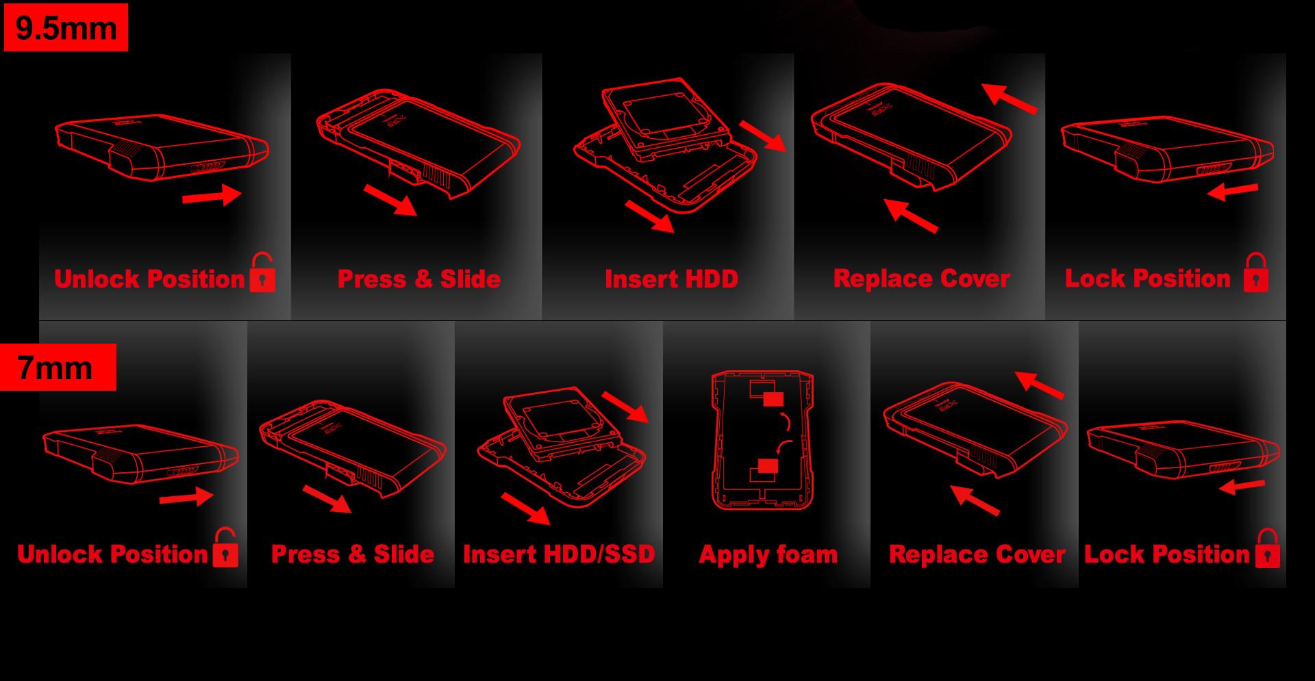 هاردباکس مقاوم EX500 ایدیتا