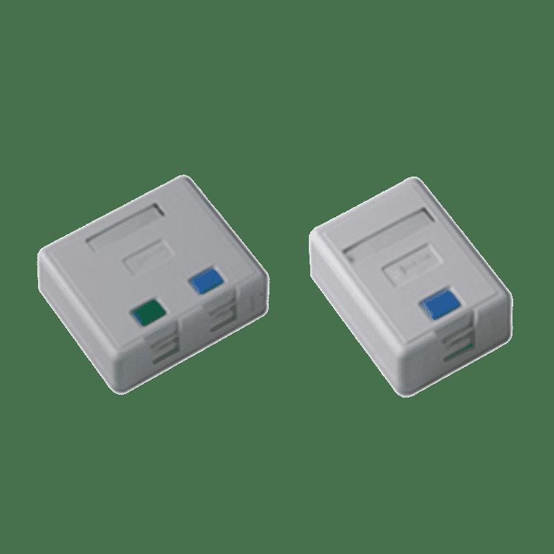 پریز شبکه روکار Cat 5E+ UTP دیجی لینک اشنایدر