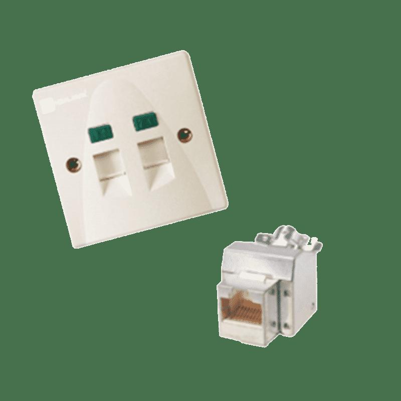 پریز شبکه دیجی لینک Cat 5E+ STP اشنایدر