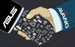 همکاری آونگ و ایسوس در محصولات شبکه