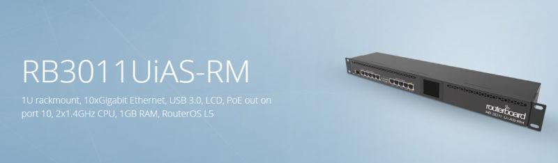 روتر RB3011UiAS-RM