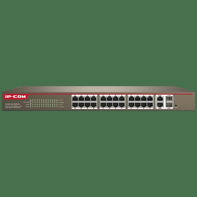 سوییچ 24 پورت (S3300-26-PWR-M(F1226P آی پی کام
