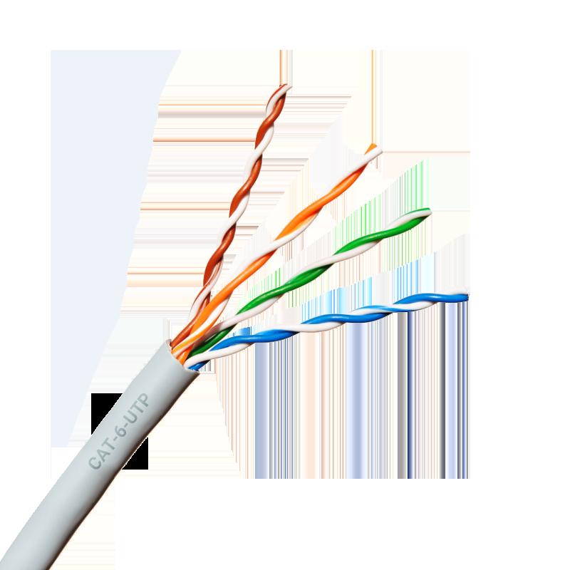 کابل شبکه Cat 6 UTP اشنایدر