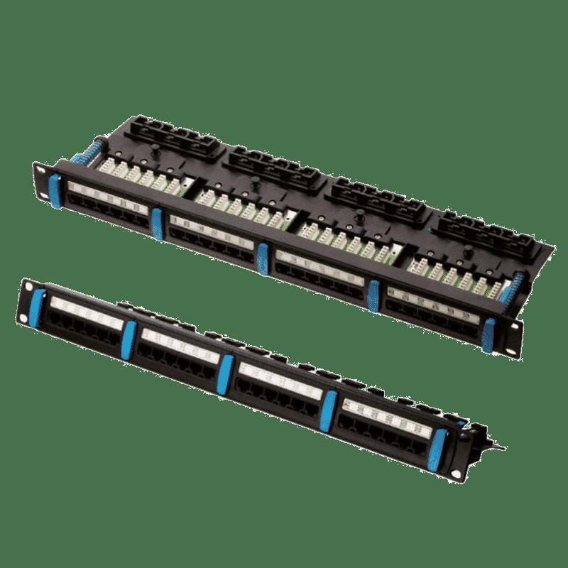 پچ پنل بدون شیلد Cat 5E+ UTP (مدل اسمارت)