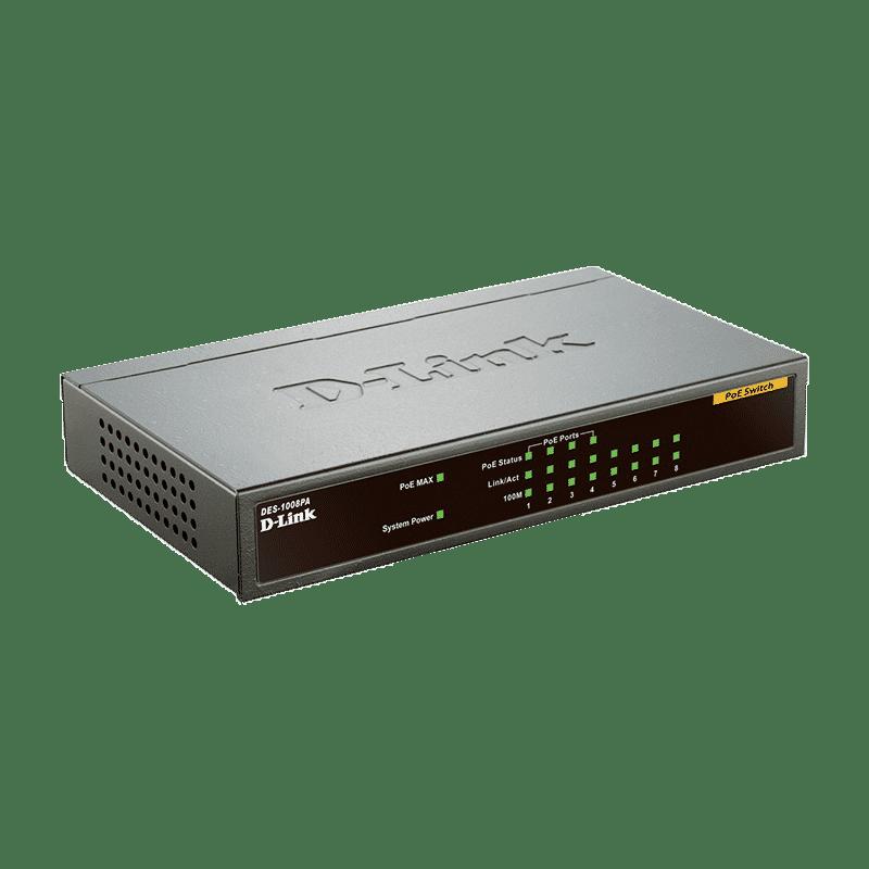 سوئیچ DES-1008PA دی لینک