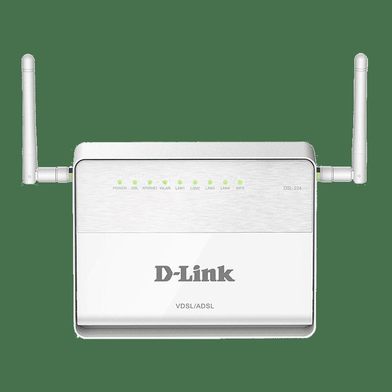 مودم روتر+VDSL2/ADSL2 مدل DSL-224 دی-لینک
