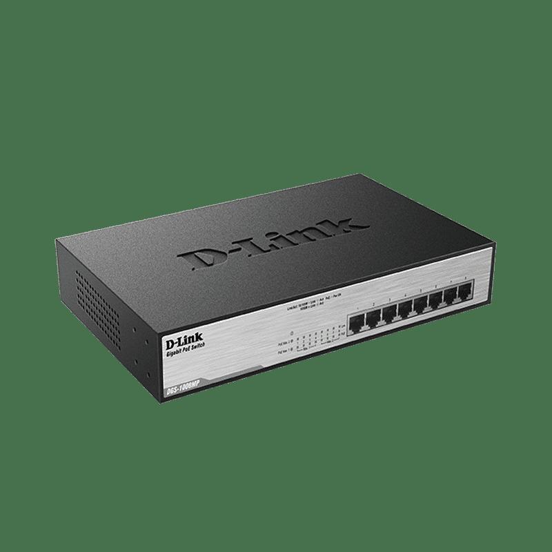 سوییچ PoE مدل DGS-1008MP دی-لینک