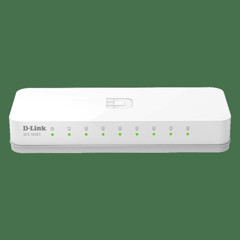سوییچ مدل DES-1008C دی-لینک