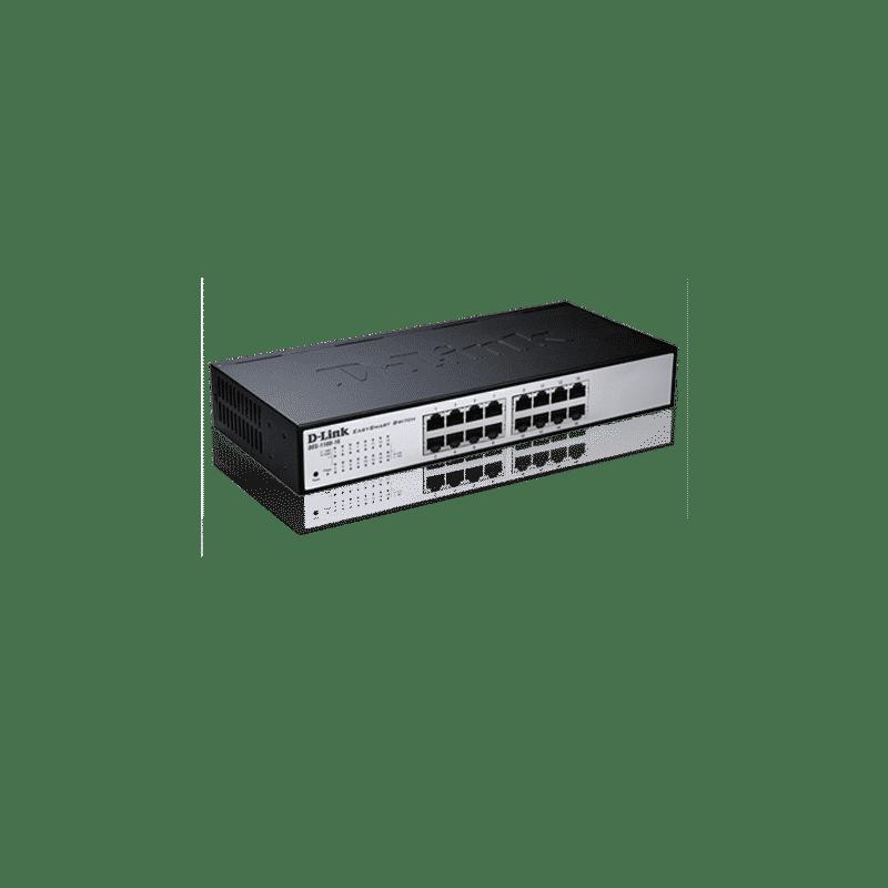 سوییچ هوشمند 16 پورت مدل DES-1100-16 دی-لینک