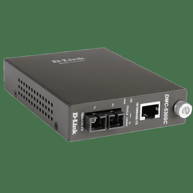 مبدل فیبرنوری سینگل مود به پورت شبکه DMC-530SC دی-لینک