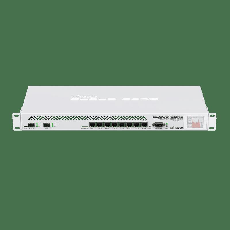 روتر حرفه ای مدل CCR1036-8G-2S+EM میکروتیک