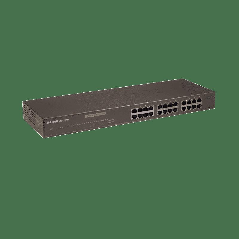 سوییچ 24 پورت غیر مدیریتی +DES-1024R دی-لینک
