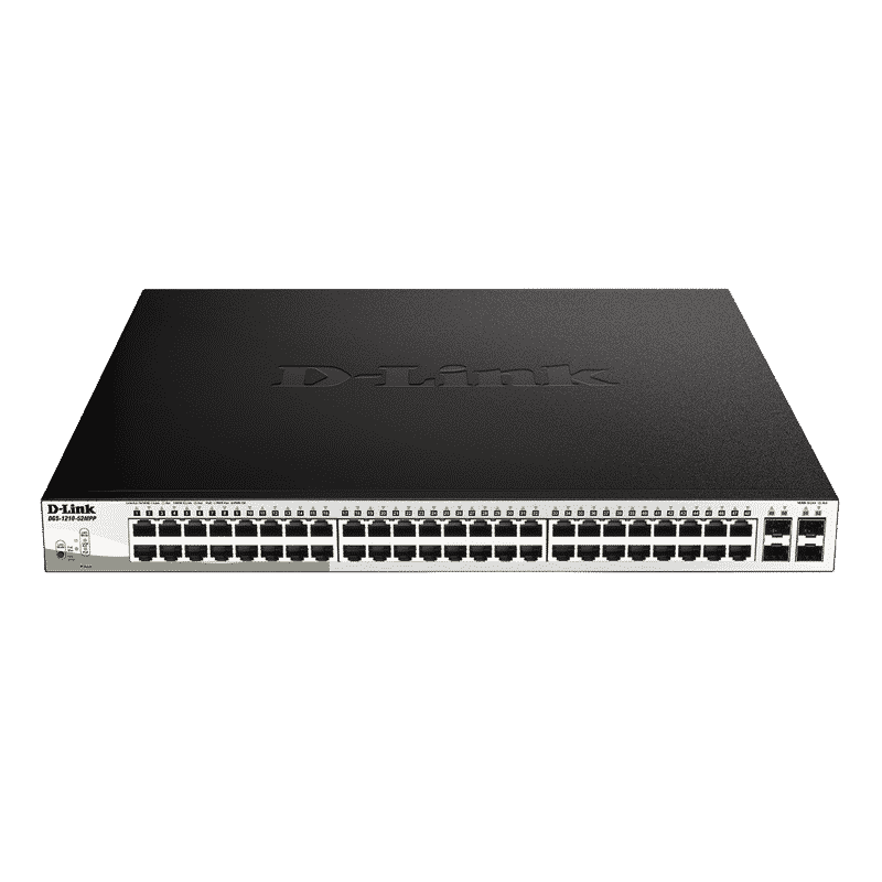 سوییچ PoE هوشمند DGS-1210-52MPP دی-لینک