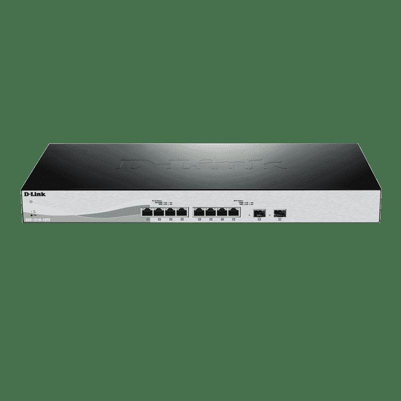 سوییچ هوشمند گیگابیتی 8 پورت DXS-1210-10TS دی-لینک