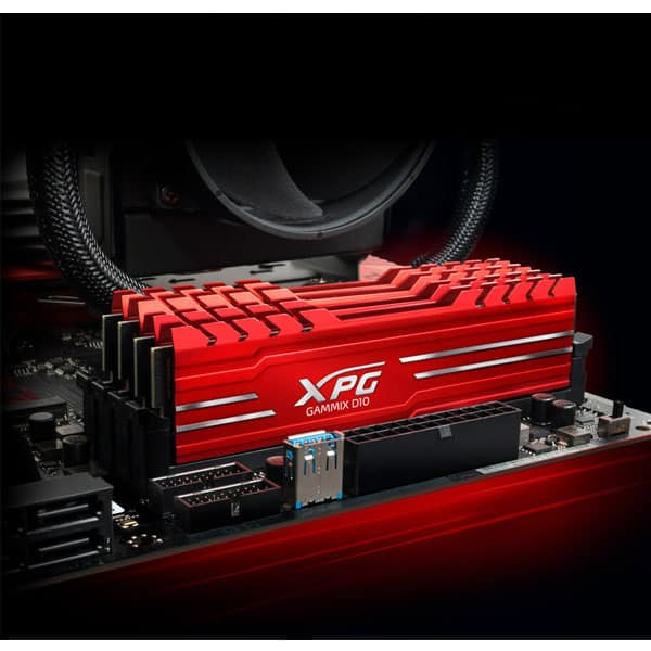 رم DDR4 دو کاناله 2666 مگاهرتز مدل XPG GAMMIX D10 ای دیتا