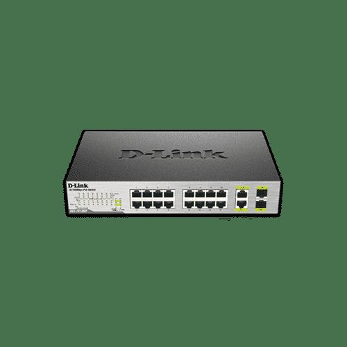 سوییچ غیر مدیریتی DES-1018p دارای 16 پورت با سرعت 10/100Mbps می باشد .