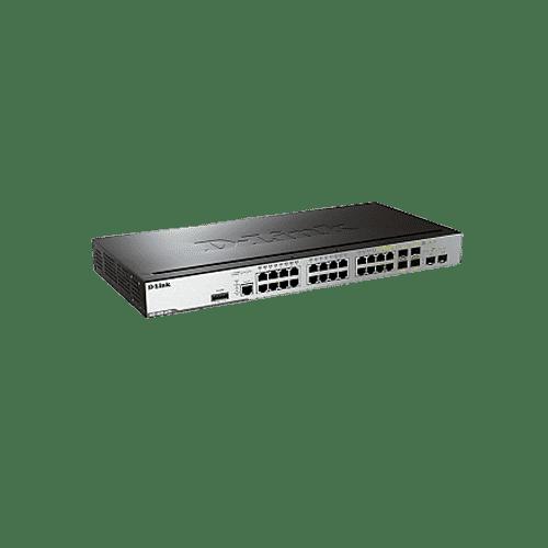 سوییچDGS-3000-26TC یک سوییچ لایه 2 گیگابیتی و قابل مدیریت است