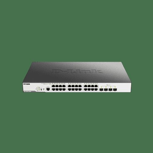 DGS-3000-28XMP سوییچ لایه 2 سری DGS-3000 است .