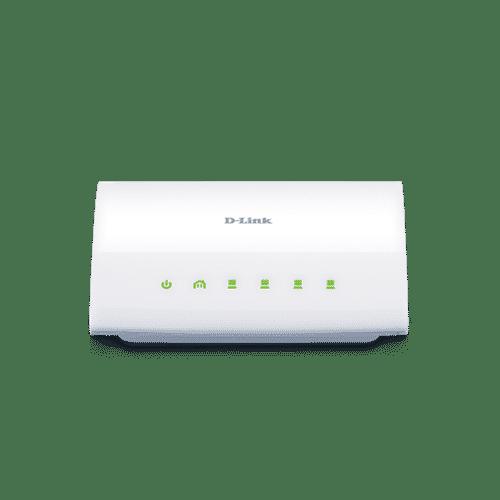 DHP-346AV یک سوییچ پاورلاین 4 پورت با استاندارد HomePlug AV است