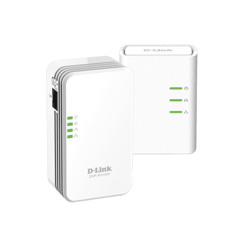 کیت استارتر PowerLine AV 500 Wireless از کابل کشی برق خانه برای ایجاد و یا گسترش شبکه موجود استفاده میکند