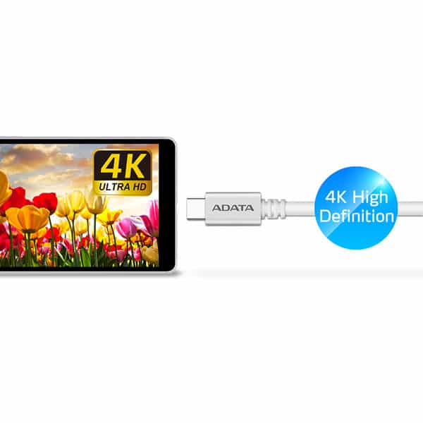 کابل USB-C به USB-C 3.1 Gen 2 ای دیتا