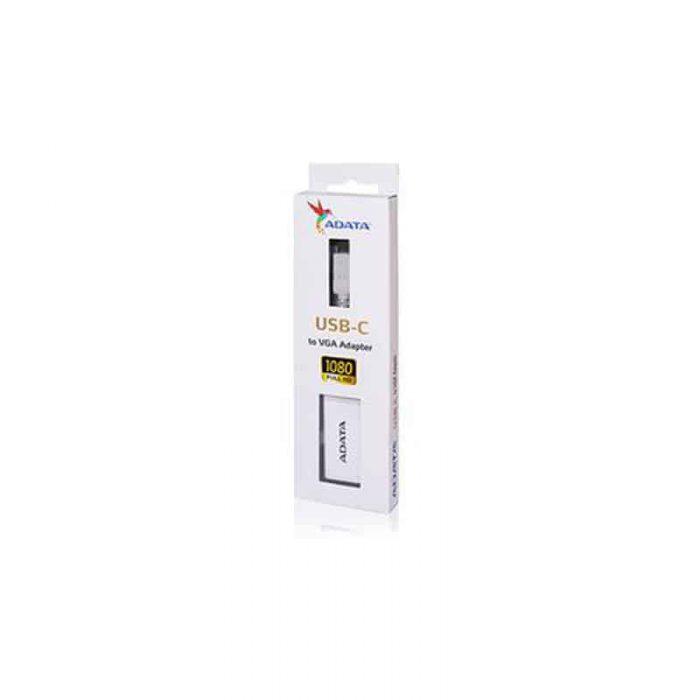مبدل USB-C به VGA ای دیتا