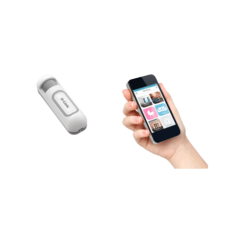 DCH-Z120 سنسور حرکت باتری خور که در اصل سه سنسور تماسی، دما و نور در یک سنسور می باشد