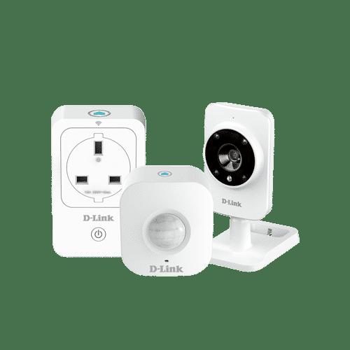 به وسیله کیتD-Link DCH-100KT میتوانید به صورت اتوماتیک و هوشمند خانه خود را کنترل نمایید