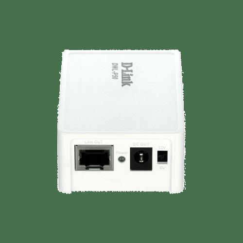 مبدلDWL-P50 یک اینجکتور یک پورت است که برق DC برای دستگاه هایی که قابلیت PoE ندارند تامین میکند