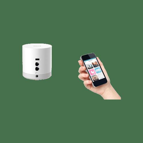هاب خانگیDCH-G022 یک gateway با تکنولوژی z-wave به خانه شما اضافه میکند