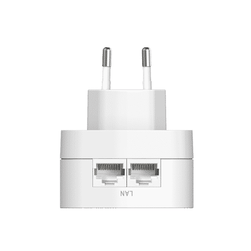 پاورلاینDHP-W220AV از سیم کشی برق خانه شما برای گسترش شبکه خانه تان استفاده میکند