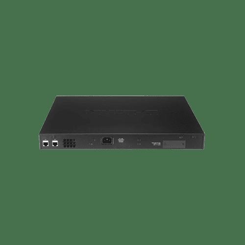 این سوییچ دارای 24 پورت فست اترنت دو پورت گیگابیتی و دو پورت ترکیبی SFP است.