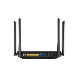 ASUS DSL-AC55U یک مودم روتر بی سیم ADSL/VDSL 802.11ac 2×2 است که دو باند را برای دستیابی به سرعت 1167 مگابیتبر ثانیه ترکیب کرده است.
