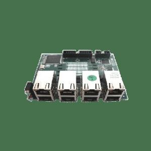 ماژول 4 پورت PRI از کارت D-link DVX-8010 دی-لینک پشتیبانی می کند.