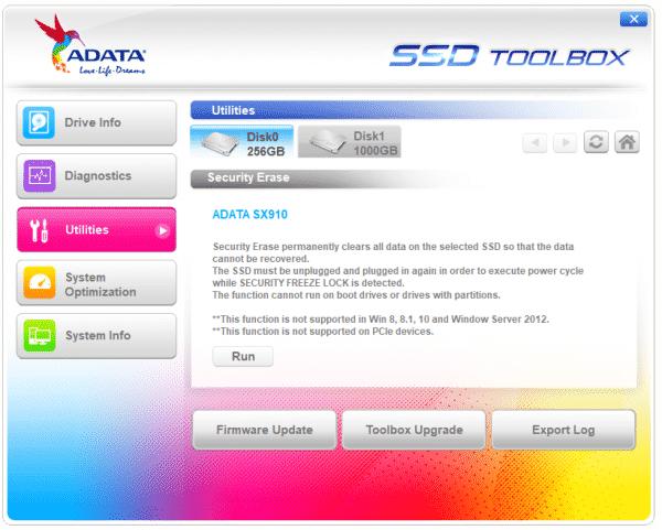 بروزرسانی میانافزار (firmware) درایو SSD