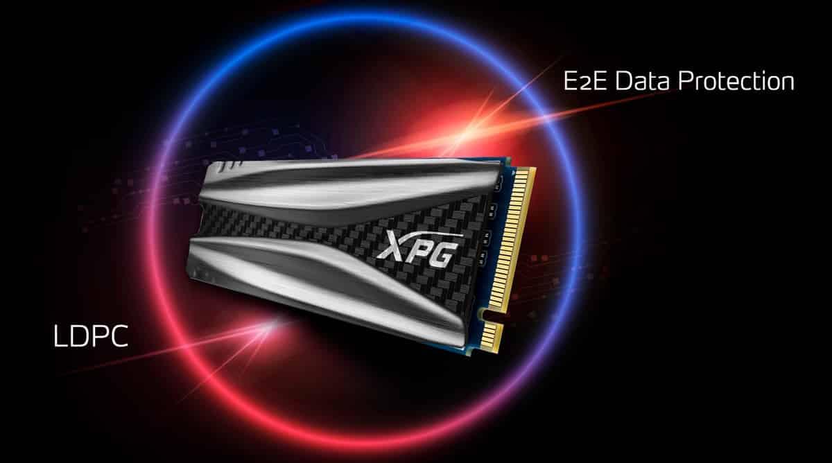ای دیتا XPG GAMMIX S50 PCIe Gen4x4