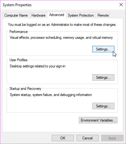 مرحله یک کاهش ردپای نصب ویندوز 10