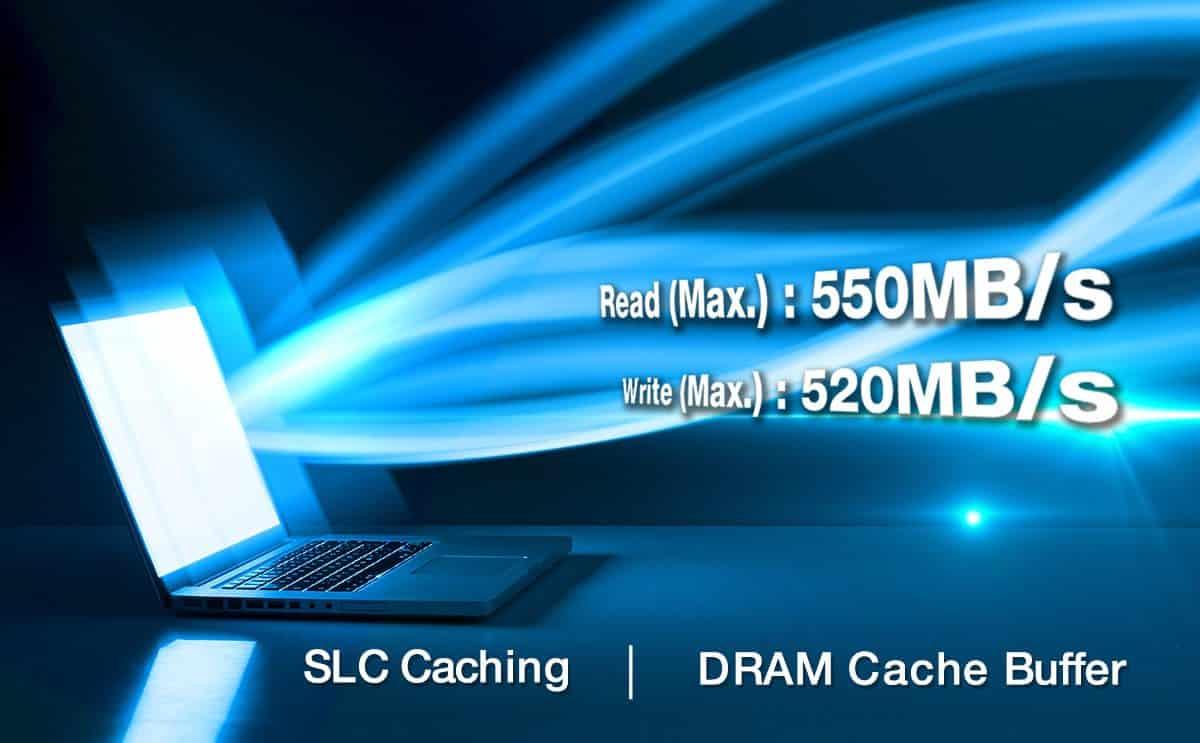 درایو SSD مدل SU760 ای دیتا