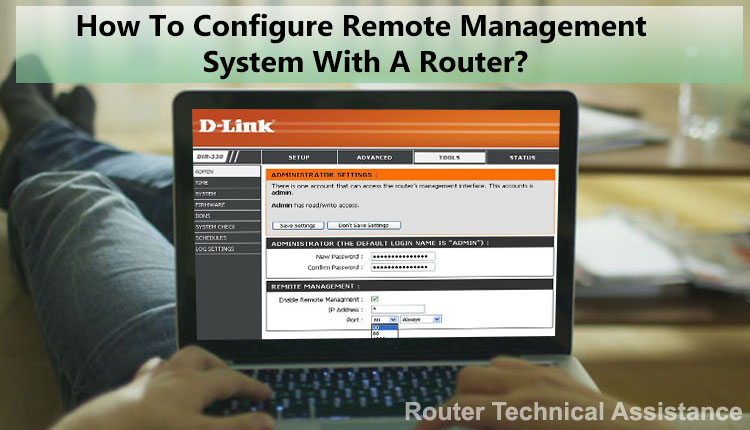 کانفیگ و راه اندازی remote router management