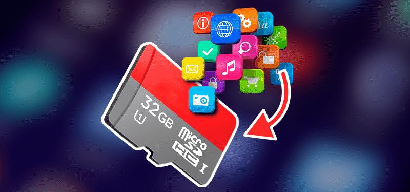 انتقال نرم افزارها به SD Card