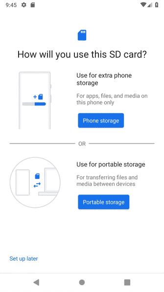 استفاده از کارت حافظه در گوشی