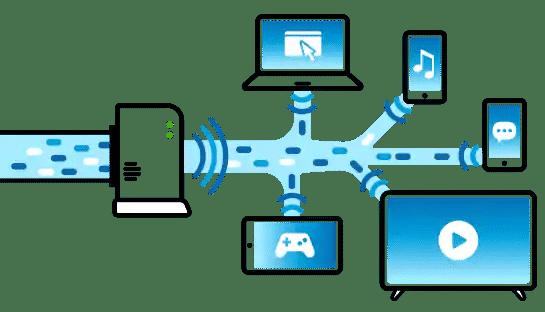 افزایش سرعت شبکه وای فای