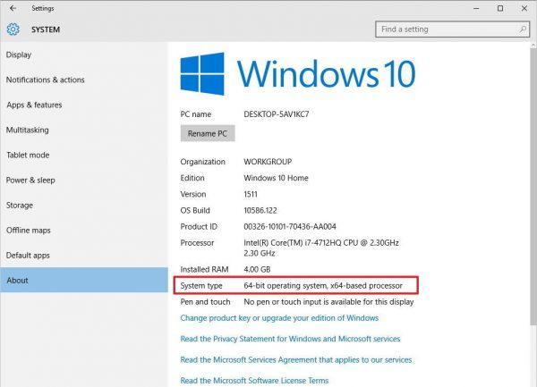 مرحله چهارم نحوه شناسایی نسخه ویندوز